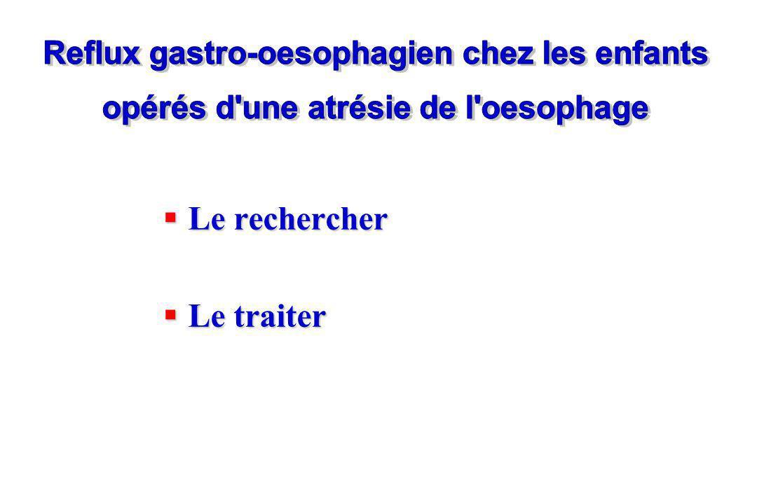 Reflux gastro-oesophagien chez les enfants