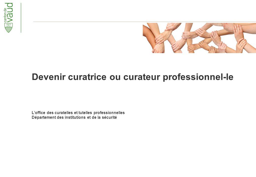 Devenir curatrice ou curateur professionnel-le