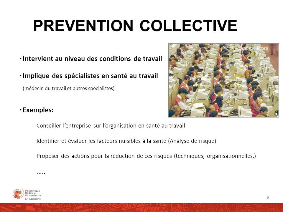 PREVENTION COLLECTIVE