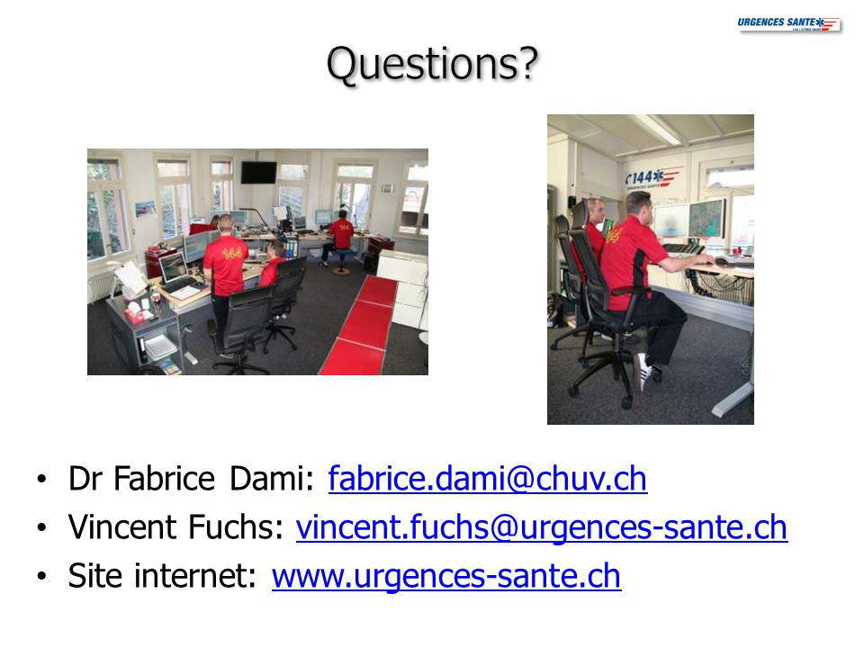 Questions Dr Fabrice Dami: fabrice.dami@chuv.ch