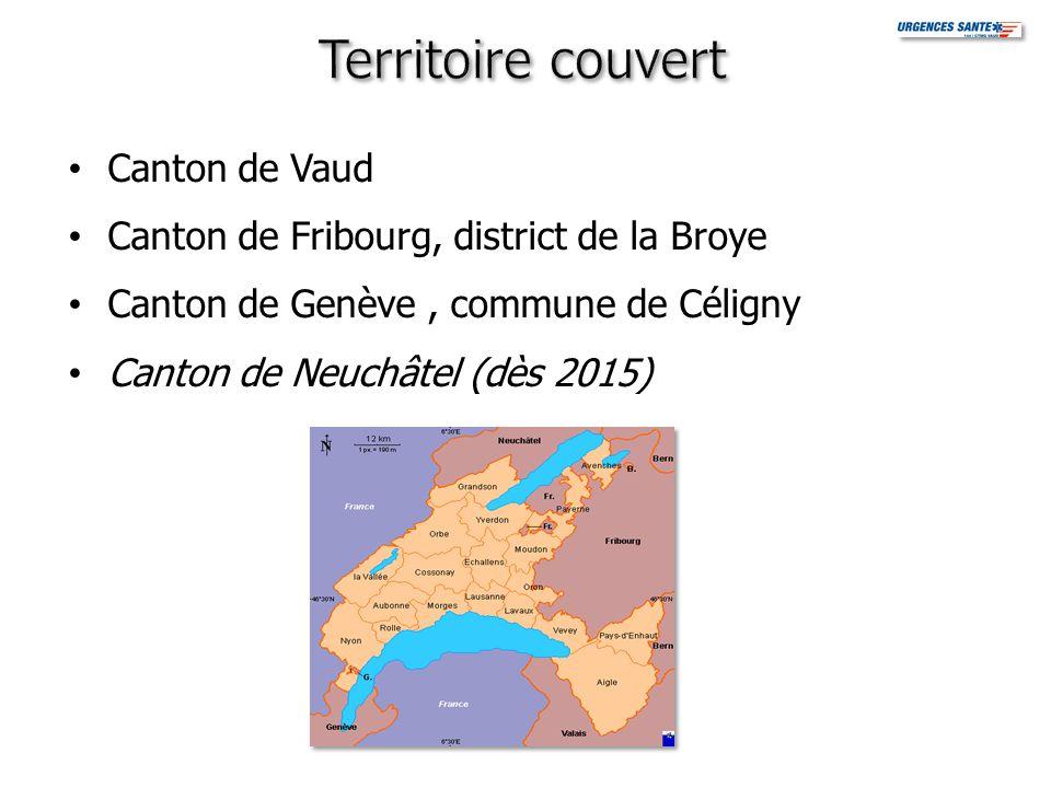 Territoire couvert Canton de Vaud