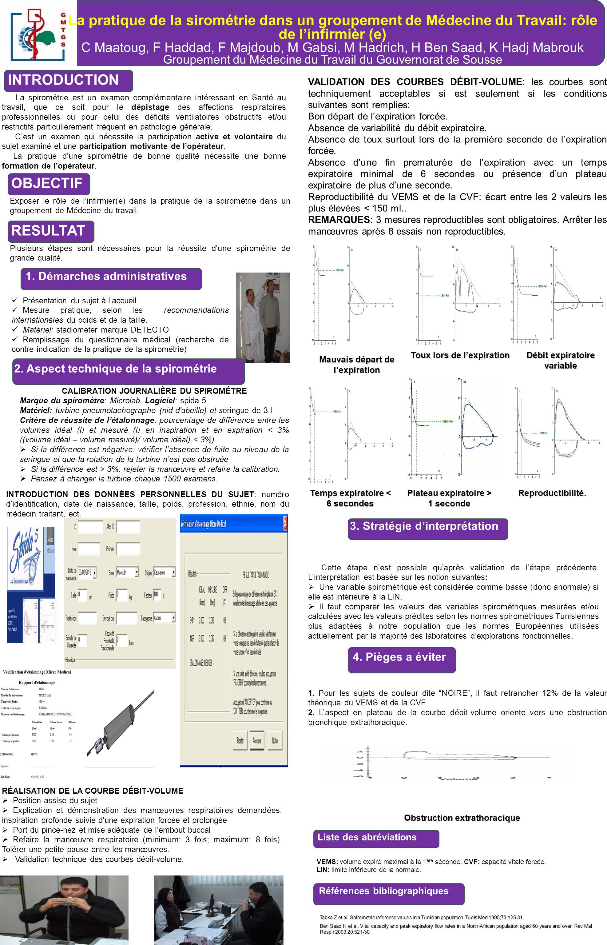 La pratique de la sirométrie dans un groupement de Médecine du Travail: rôle de l'infirmièr (e)