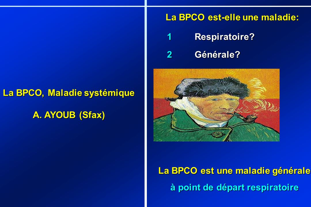 La BPCO est-elle une maladie: