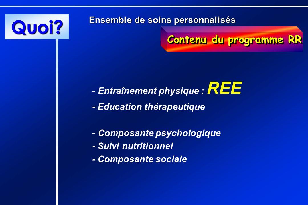 Contenu du programme RR