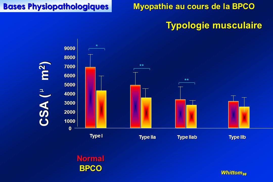 Bases Physiopathologiques