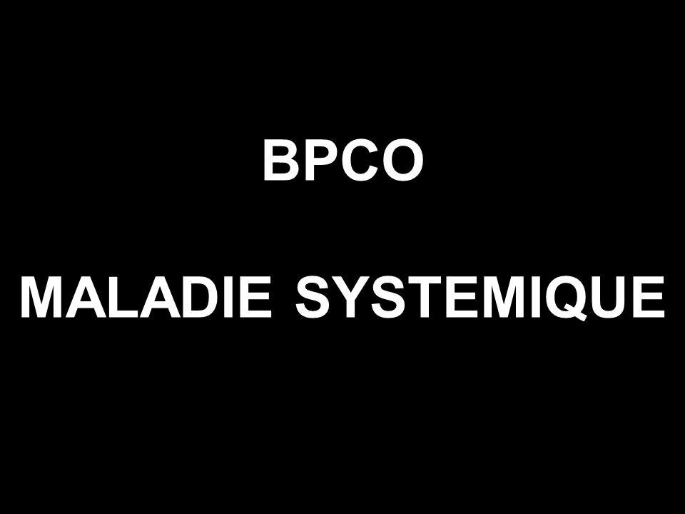 BPCO MALADIE SYSTEMIQUE