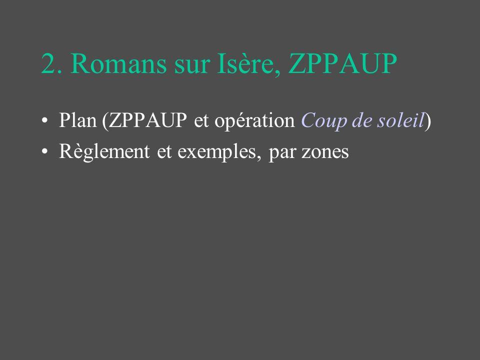 2. Romans sur Isère, ZPPAUP
