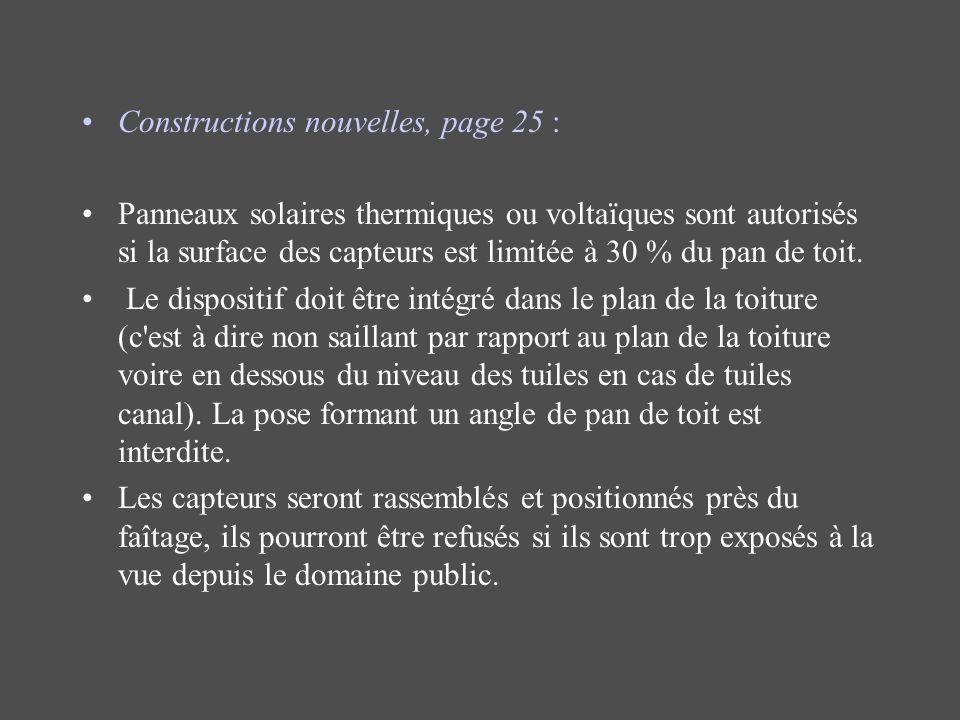 Constructions nouvelles, page 25 :