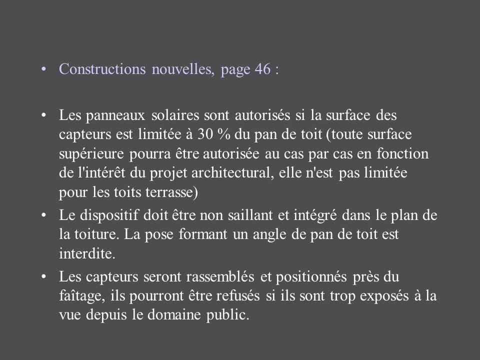 Constructions nouvelles, page 46 :
