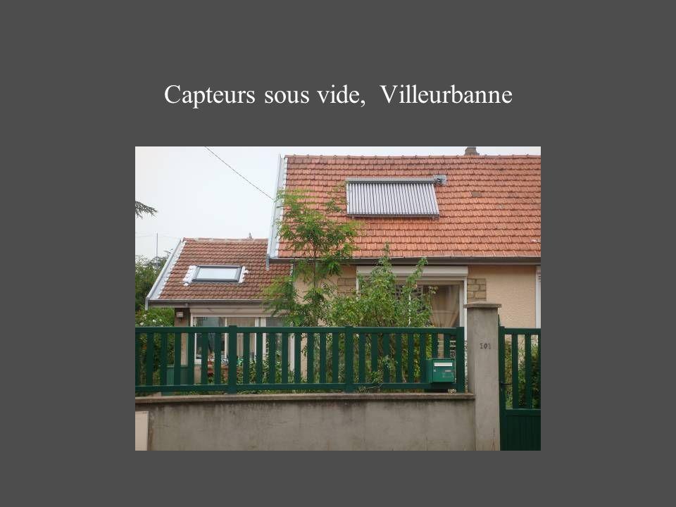 Capteurs sous vide, Villeurbanne
