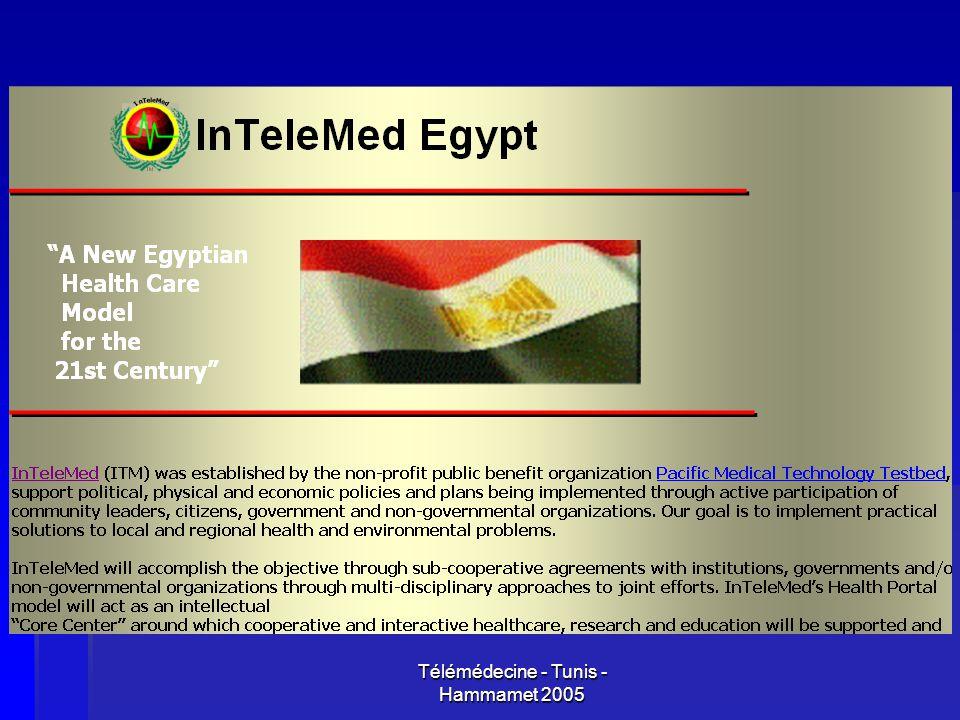 Télémédecine - Tunis - Hammamet 2005