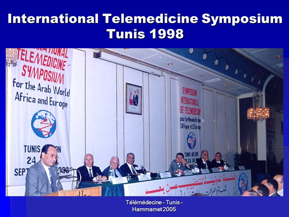 International Telemedicine Symposium Tunis 1998