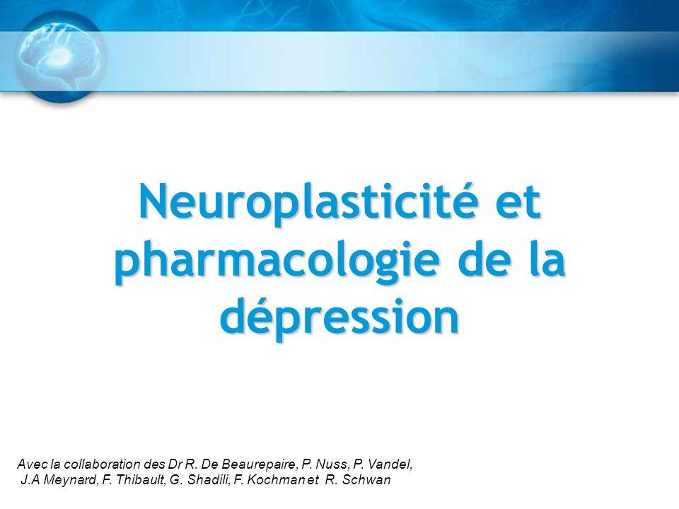 Neuroplasticité et pharmacologie de la dépression