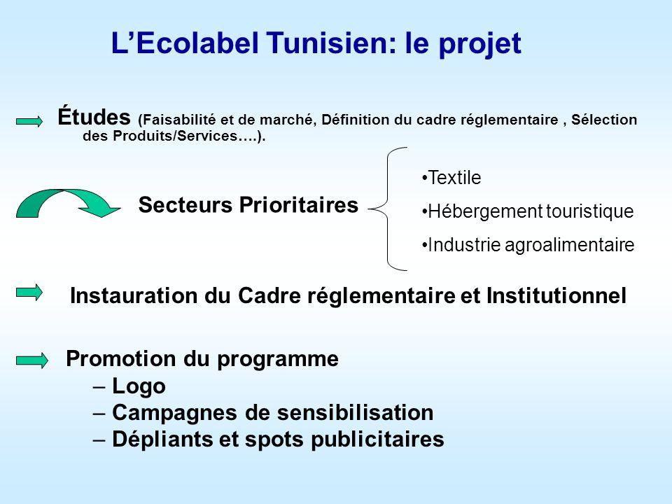 L'Ecolabel Tunisien: le projet