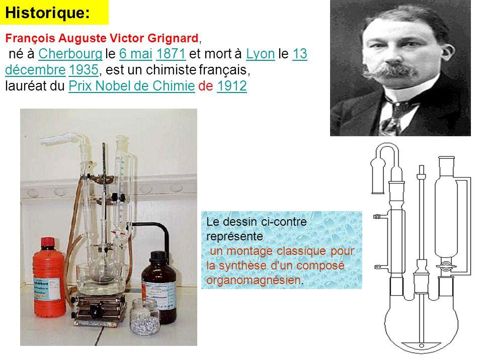 Historique: lauréat du Prix Nobel de Chimie de 1912