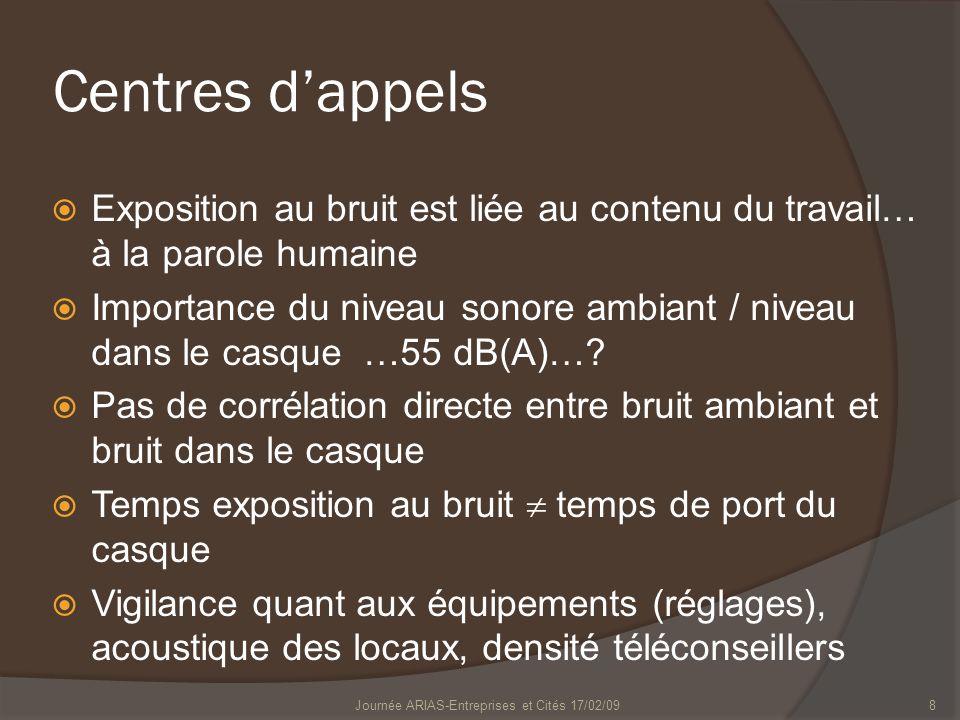 Journée ARIAS-Entreprises et Cités 17/02/09