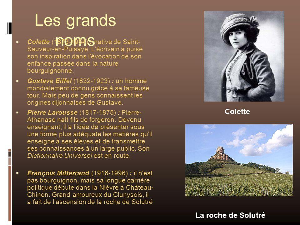 Les grands noms Colette La roche de Solutré