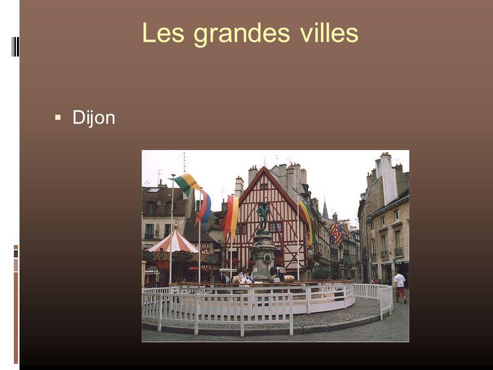 Les grandes villes Dijon