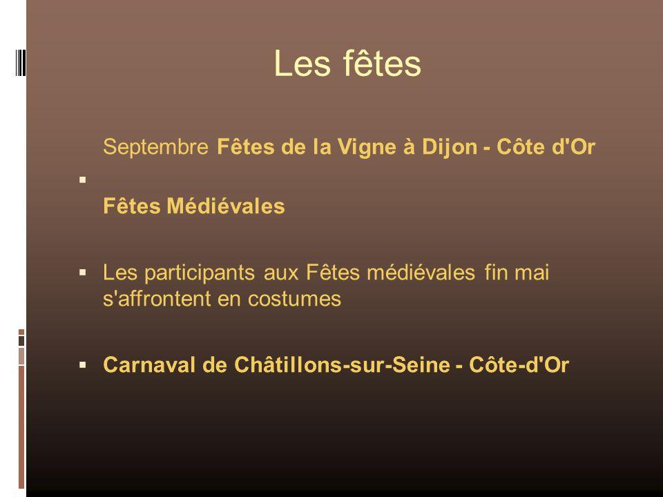 Les fêtes Septembre Fêtes de la Vigne à Dijon - Côte d Or