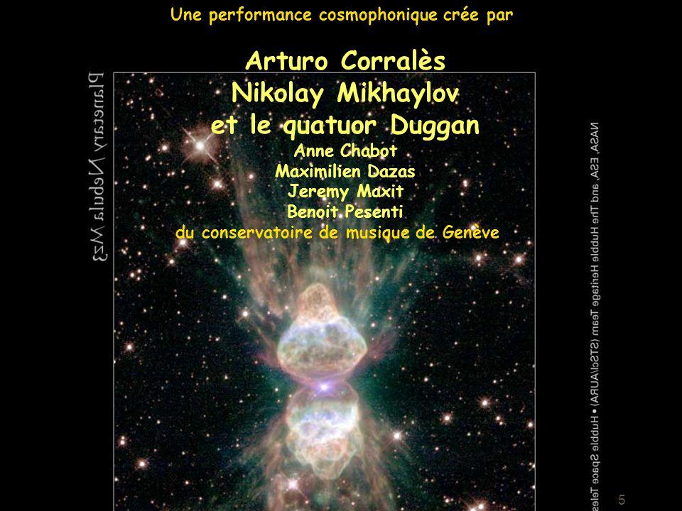 Arturo Corralès Nikolay Mikhaylov et le quatuor Duggan