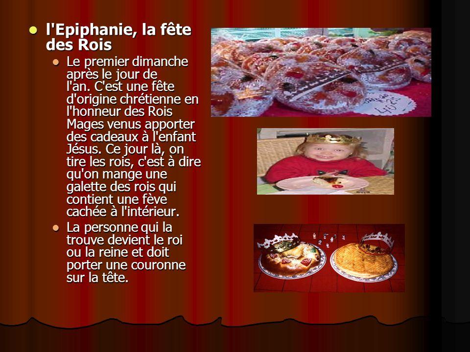 l Epiphanie, la fête des Rois