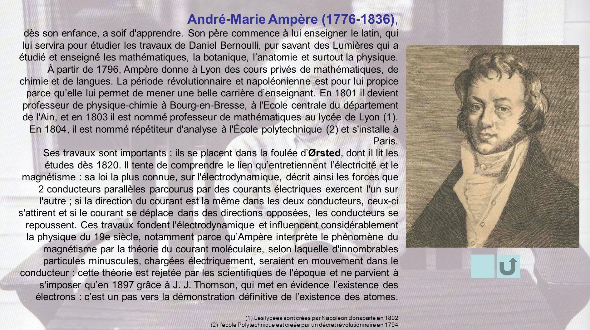 André-Marie Ampère (1776-1836),