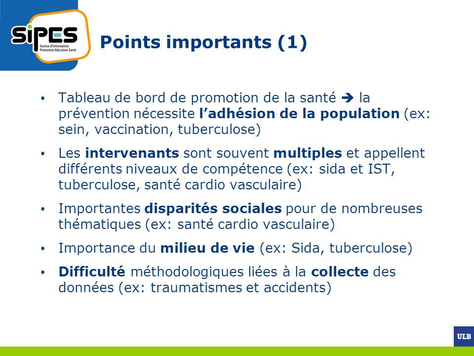 Points importants (1)