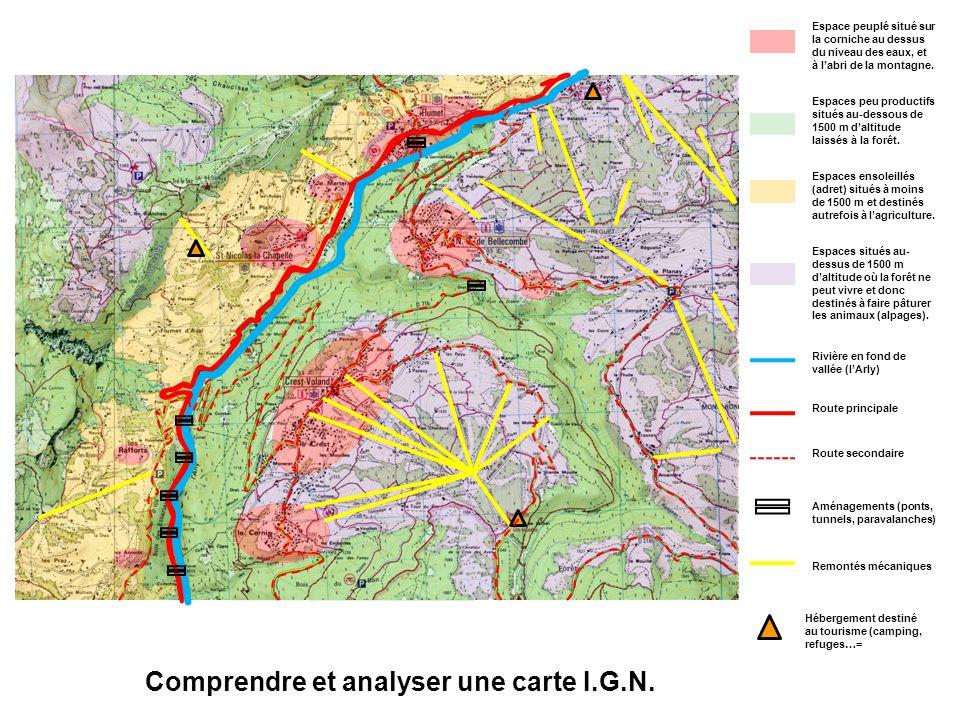 Comprendre et analyser une carte I.G.N.