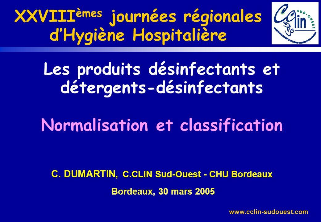 XXVIIIèmes journées régionales d'Hygiène Hospitalière