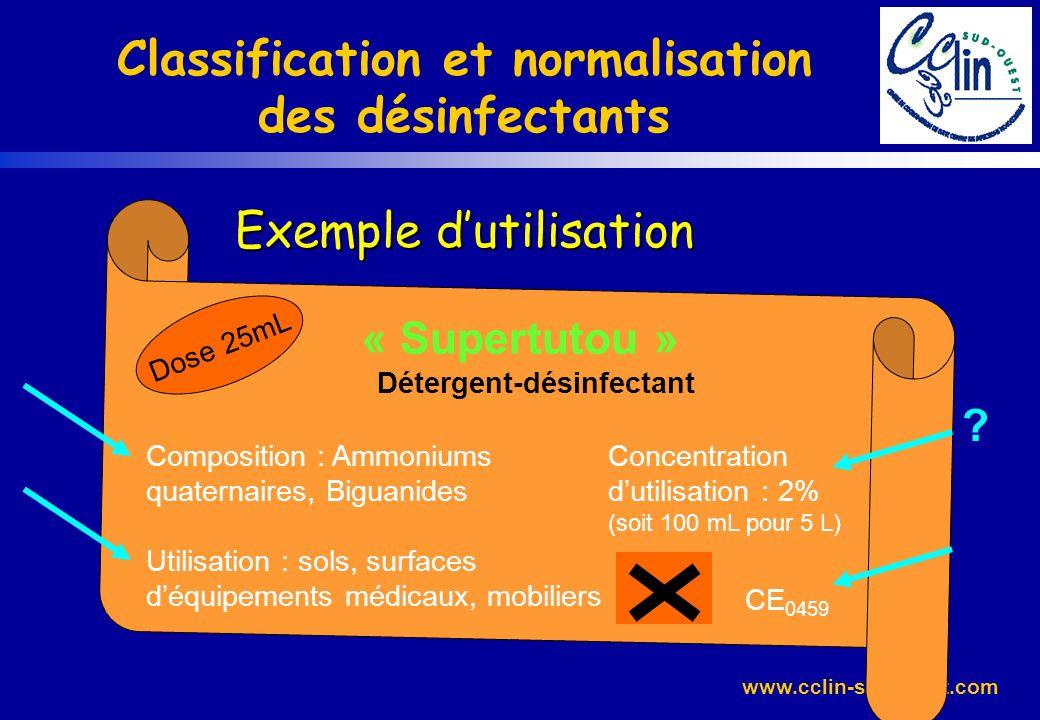 Détergent-désinfectant