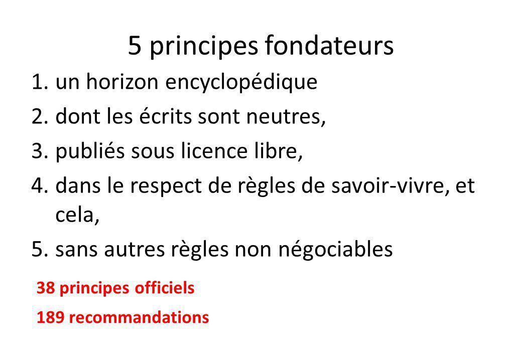 5 principes fondateurs un horizon encyclopédique