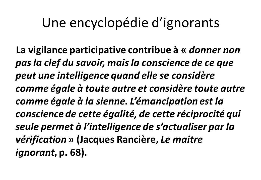 Une encyclopédie d'ignorants