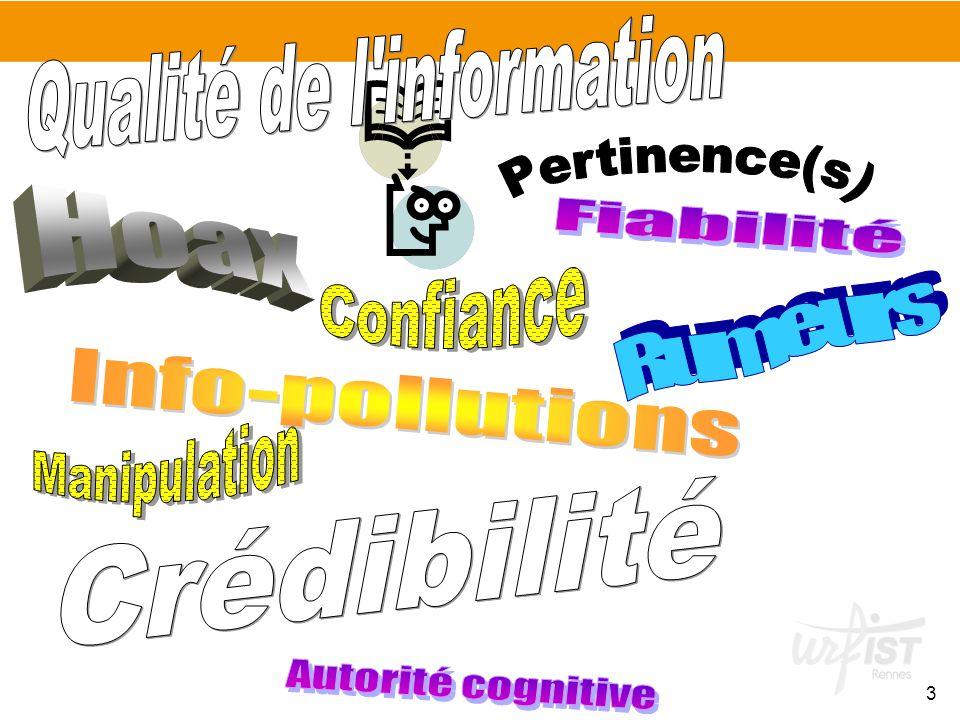 Qualité de l information
