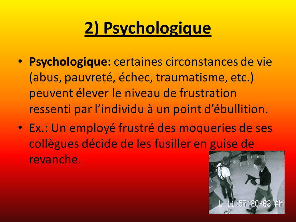 2) Psychologique