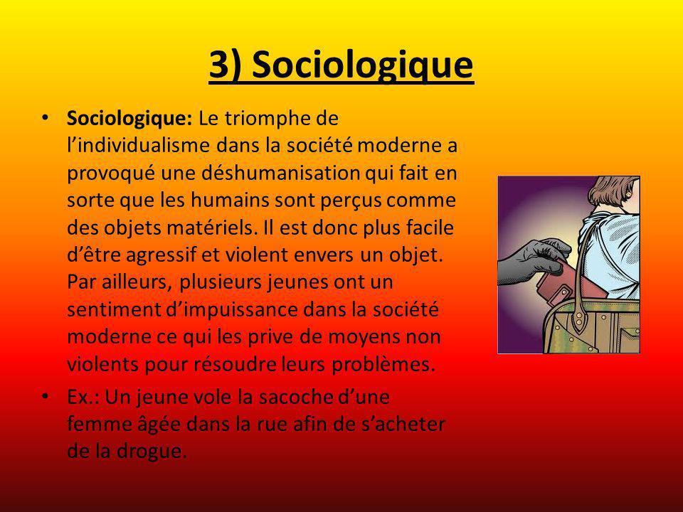 3) Sociologique