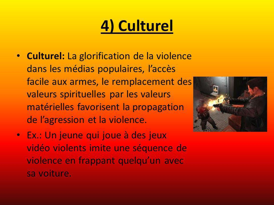 4) Culturel