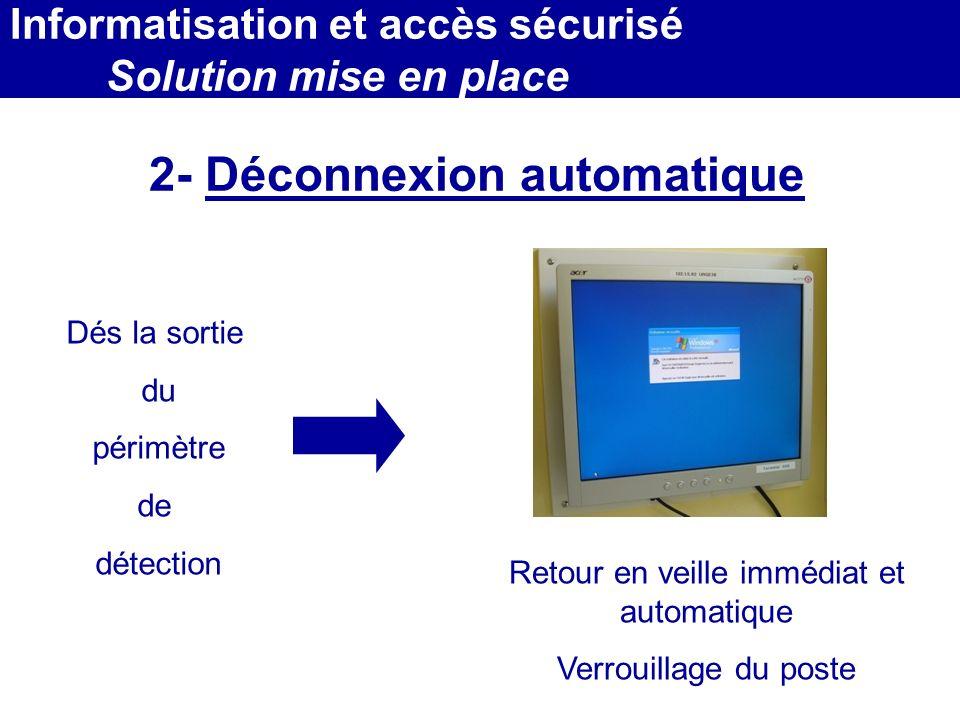 2- Déconnexion automatique