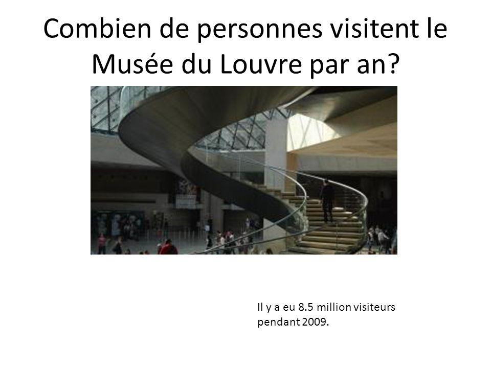 Combien de personnes visitent le Musée du Louvre par an