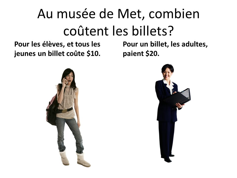Au musée de Met, combien coûtent les billets