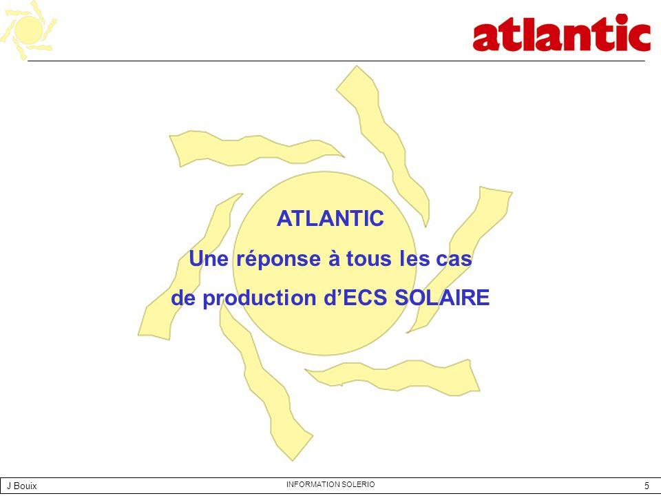 Une réponse à tous les cas de production d'ECS SOLAIRE