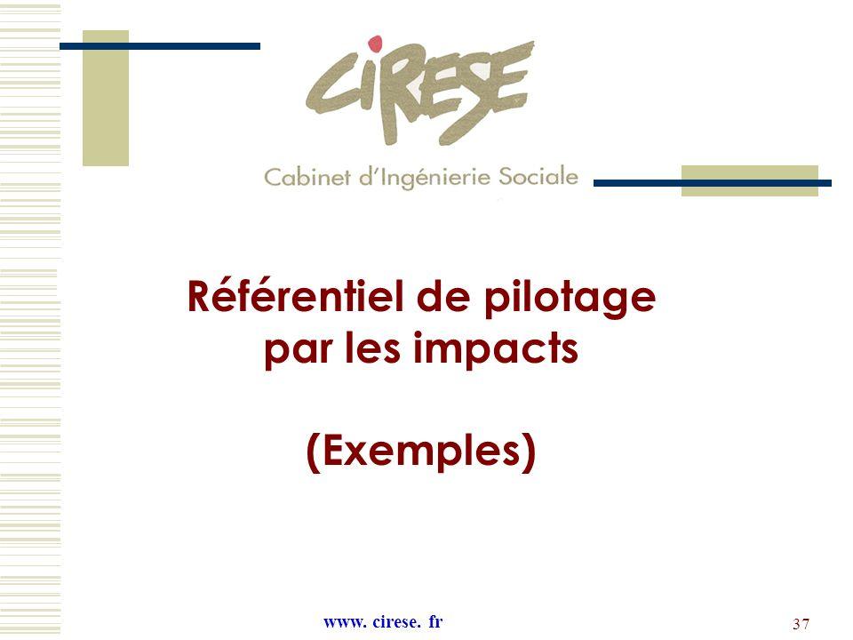 Référentiel de pilotage L'évaluation les Impacts sociaux des PRU