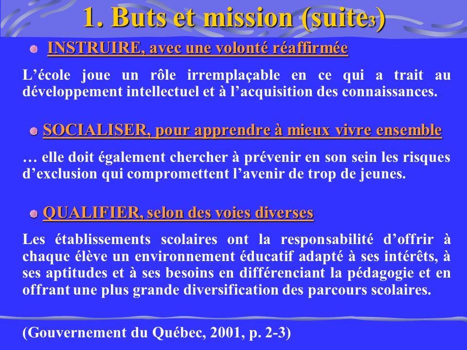 1. Buts et mission (suite3)