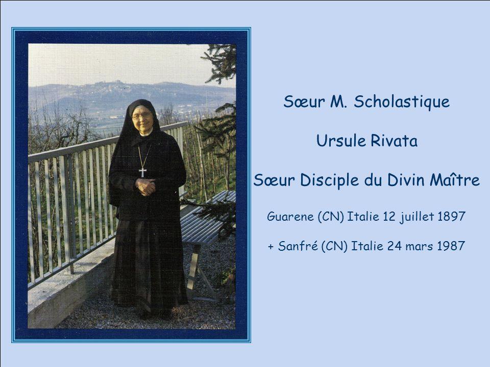 Sœur Disciple du Divin Maître