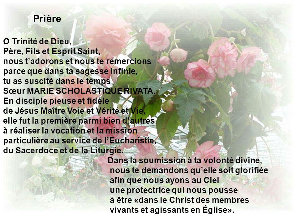 Prière O Trinité de Dieu, Père, Fils et Esprit Saint,
