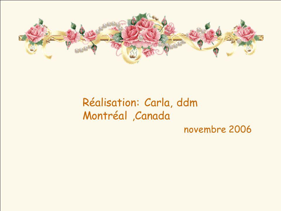 Réalisation: Carla, ddm