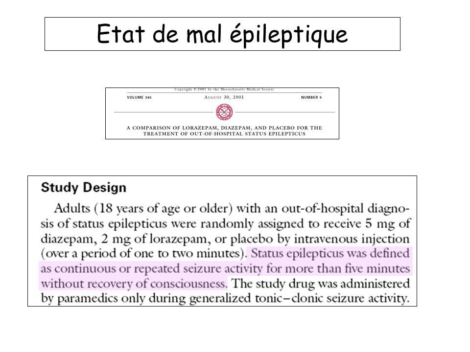 Etat de mal épileptique