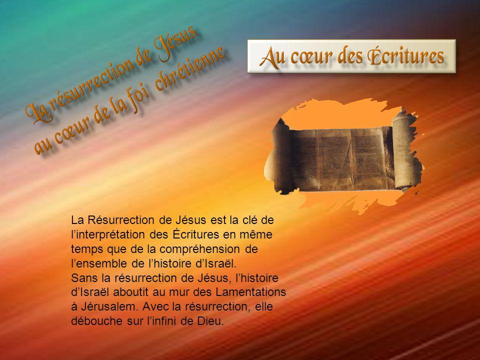 La Résurrection de Jésus est la clé de