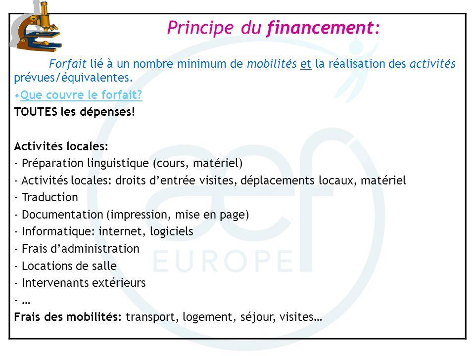 - Préparation linguistique (cours, matériel)