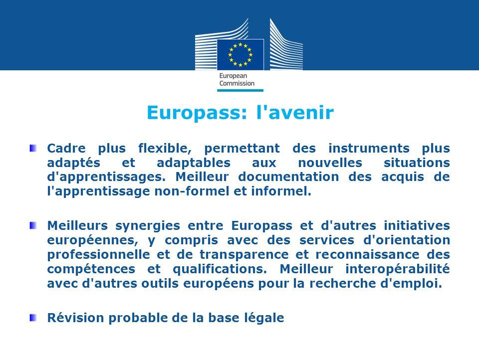 Europass: l avenir