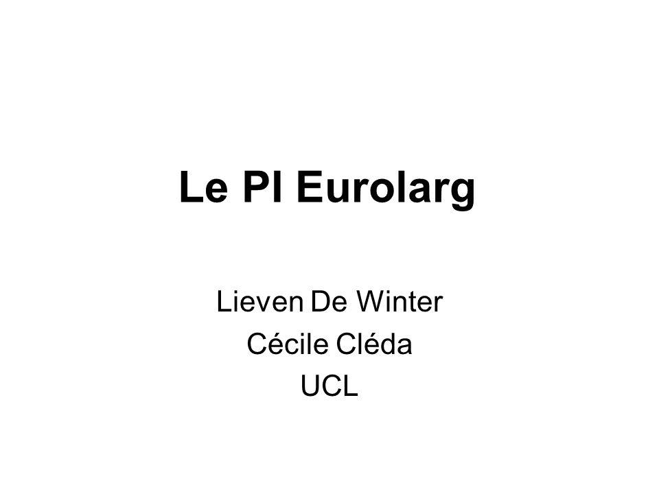 Lieven De Winter Cécile Cléda UCL